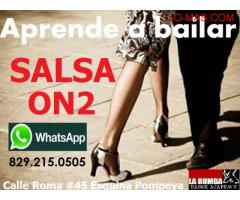 APRENDE A BAILAR SALSA ON2 ESTILO DISCOTECA!