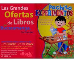 Libro Ilustrado Especial Pachito Experimentos - eRockAds