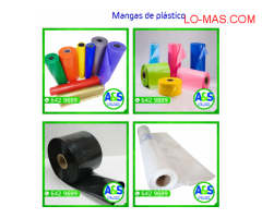 MANGAS DE PLASTICO - AYS PLAX