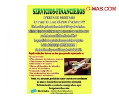 OFERTA DE PRÉSTAMO EN PARTICULAR RÁPIDO Y SEGURO !!! Electrónico : ( claeshenrikclern@gmail.com )