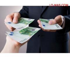 OFerta de préstamo rápido, fiable dinero