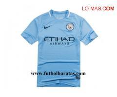 Camiseta Manchester City 2017-2018 baratas