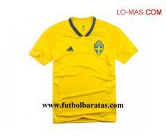 Camiseta Suecia Copa Mundial 2018