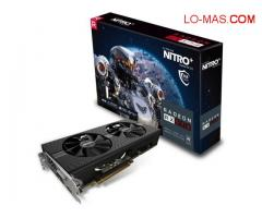 NEW SAPPHIRE RADEON NITRO + RX 480 / RX 470/RX 580/ RX 570 8GB $250 USD AND OTHER MODEL AVAILABLE.