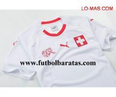 Tailandia camiseta Suiza 2018 Segunda Equipacion