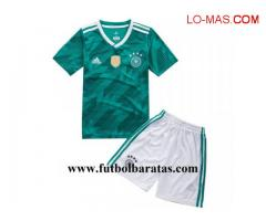 Camiseta Nino Alemania 2018 Segunda Equipacion