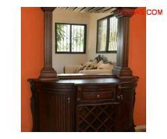 Venta de Muebles Juego de comdedor comtemporáneo de 4 sillas tapizadas Santo Domingo Oeste