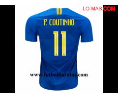 Camiseta Brasil 2018 Segunda Equipacion