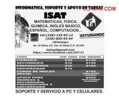 APOYO DE TAREAS SIN SALIR DE CASA. FISICA Y MATEMATICAS
