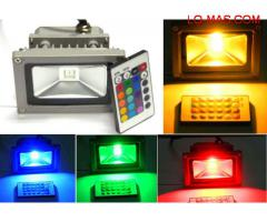Reflector LED RGB 16 colores