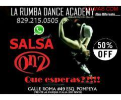 Aprenda a bailar SALSA ON2 en el ITALIA