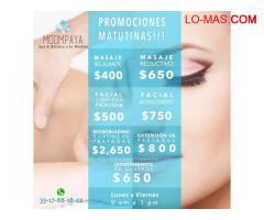 Promociones en Guadalajara | Promociones Spa Masajes, Faciales y Mas