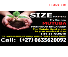 PENIS ENLARGEMENT WITH MUTUBA SEED PRODUCT WHATSAPP/CALL +27635620092 PROF KIISA