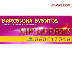 Agencia de eventos - TODA ESPAÑA