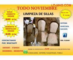 LIMPIEZA DE SILLA